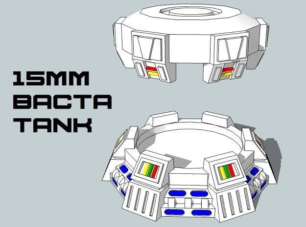 15mm Bacta Tank (1pcs)