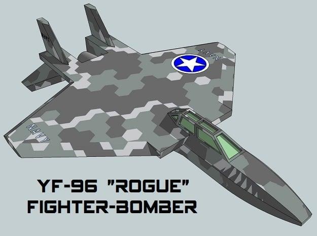 3mm Sci-Fi Fighter-Bombers (8pcs)