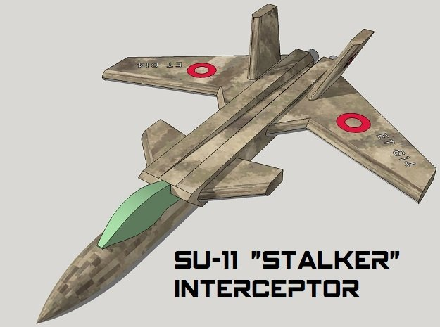 3mm Sci-Fi Interceptors (8pcs)