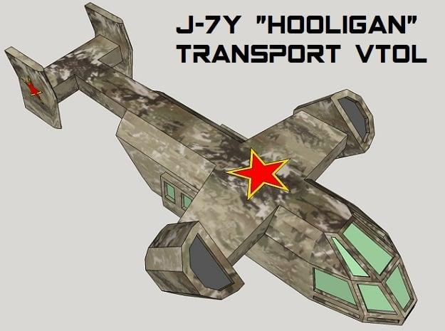 3mm Sci-Fi Transport VTOLs (12pcs)
