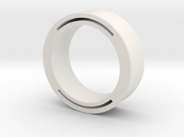 nfc ring 2 in White Natural Versatile Plastic: 9 / 59