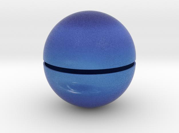 Neptune (Bifurcated) 1:250 million in Full Color Sandstone