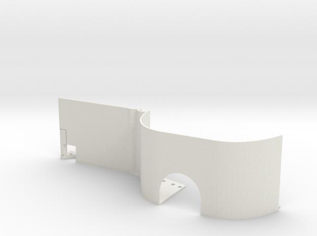 EX Real Inner Fender RIGHT REAR in White Natural Versatile Plastic