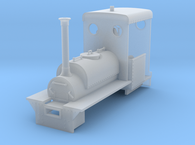 RAR Coehorn loco in Smooth Fine Detail Plastic: 1:43.5