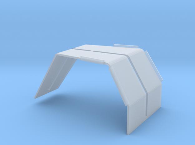 Magirus-Deutz fenders / wings 1/24 in Smooth Fine Detail Plastic