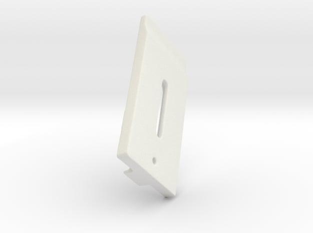 Vertaglide Bracket 40318 in White Natural Versatile Plastic