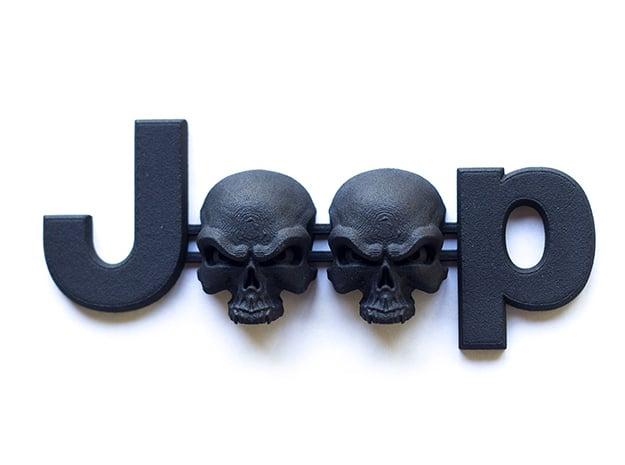 #CuzitsCustom Wicked Skulls (SM-OEM) in Black Natural Versatile Plastic