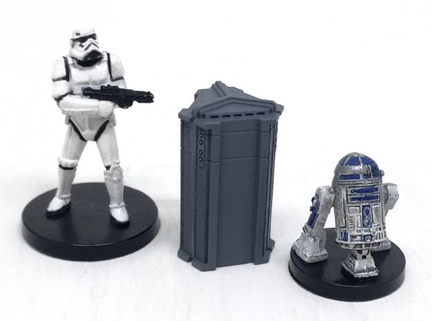4-Pack of Star Wars Loot Crate Wargaming Terrain in Smooth Fine Detail Plastic