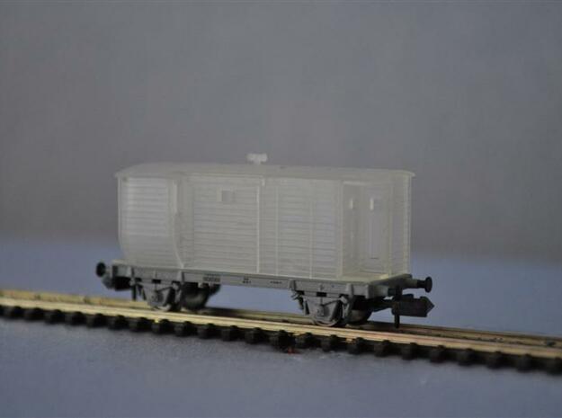 Dg 2300 van de NS met 'buik' schaal N in Smooth Fine Detail Plastic
