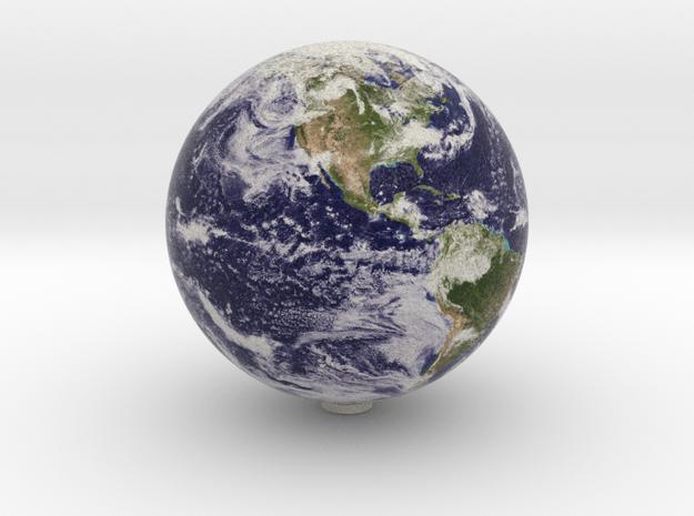 Earth 1:150 million in Natural Full Color Sandstone