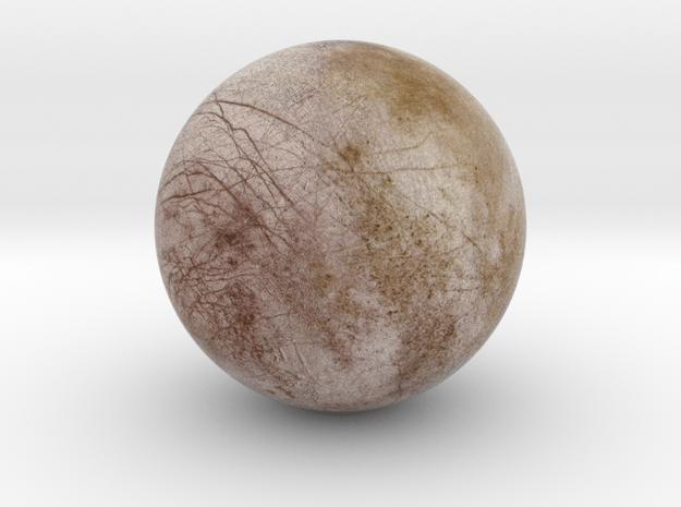 Europa 1:150 million in Natural Full Color Sandstone