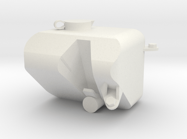 Chevy Blazer Windshield Washer Fluid Resevoir in White Natural Versatile Plastic