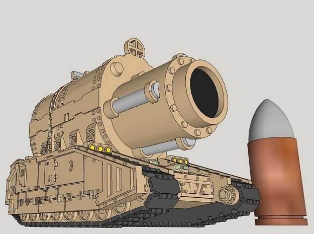 6mm OvercompensationHammer Superheavy Tank