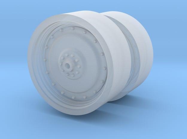 1/64 Rear puma rims in Smooth Fine Detail Plastic