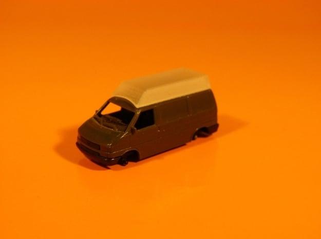 Dachaufsatz Hochdach für Roco VW T4 - TT 1:120 in Smooth Fine Detail Plastic