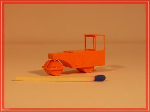 sh3192 - Straßenwalze mit Verdeck 1:120 TT in Smooth Fine Detail Plastic