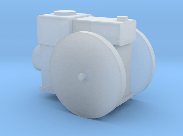 Stationärmotor ohne Transmissionsabtrieb TT 1:120 in Smooth Fine Detail Plastic