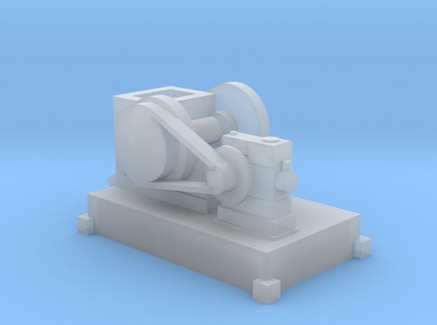 Steinbrecher mit Stationärmotor-Antrieb TT 1:120 in Smooth Fine Detail Plastic
