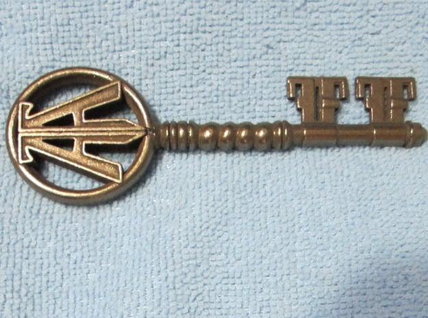 RPO Copper Key in Polished Bronze Steel