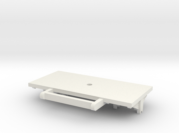 turnable part in White Natural Versatile Plastic