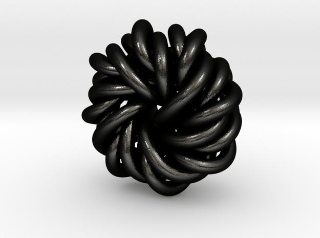 B&G Knot 12 in Matte Black Steel