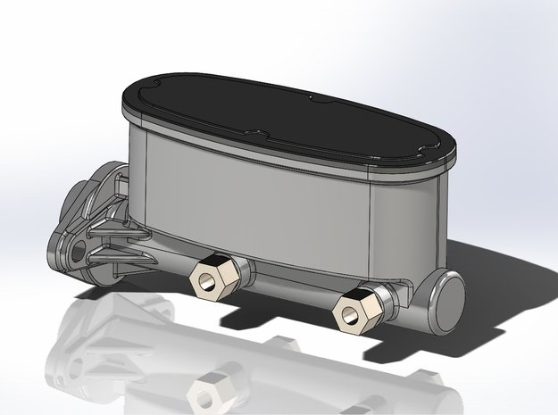 1/24 Scale Wilwood Master Cylinder in Smoothest Fine Detail Plastic