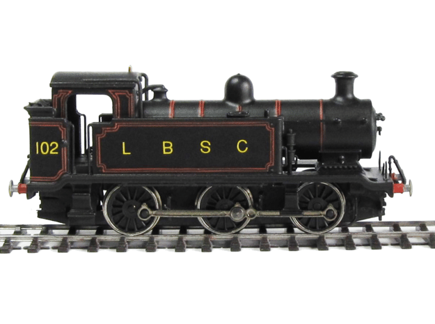 LB&SCR E2 - N-1:148 in Smooth Fine Detail Plastic