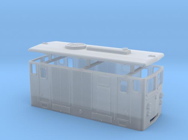 D2 H0e / 009 diesel loco in Smooth Fine Detail Plastic