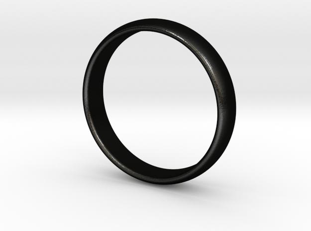 Ace Ring in Matte Black Steel: 10.25 / 62.125
