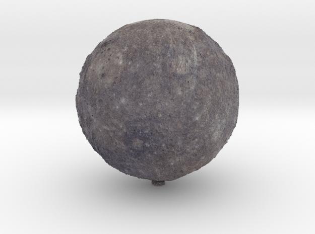 "Mercury /12"" Earth globe addon in Natural Full Color Sandstone"