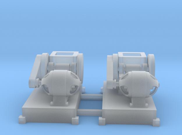 Steinbrecher mit E-Motor-Antrieb (V8) 2erSet TT 1: in Smooth Fine Detail Plastic
