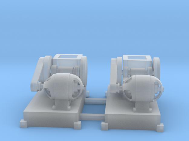 Steinbrecher mit E-Motor-Antrieb (V10) 2erSet TT 1 in Smooth Fine Detail Plastic
