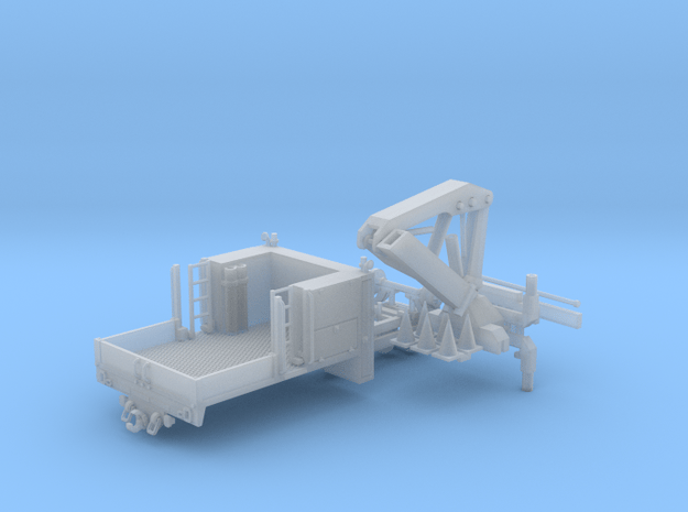 MOW Service Truck With Crane 1-87 HO Scale