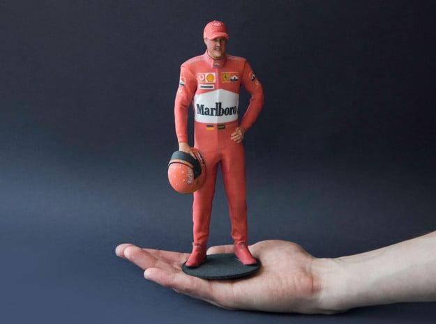 Michael Schumacher 1/8 Standing Figure