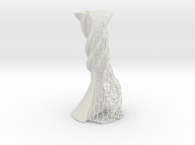 Vase 1906DP in White Natural Versatile Plastic