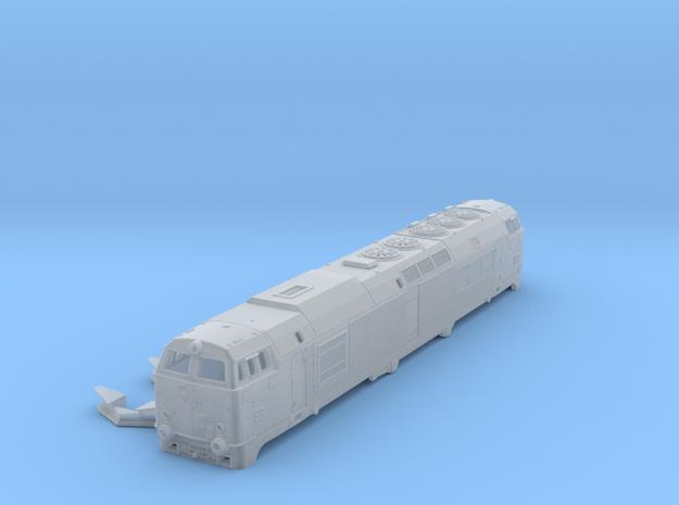 DSB MZ IV in 1:120 TT scale.