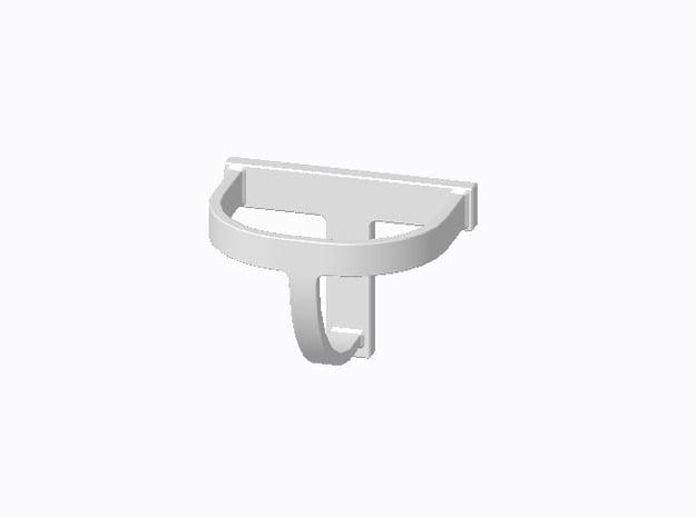 12 Stück Helmhalter Typ-B in 1:50 in Smooth Fine Detail Plastic