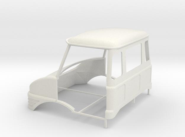 Unimog cab 1/24 in White Natural Versatile Plastic