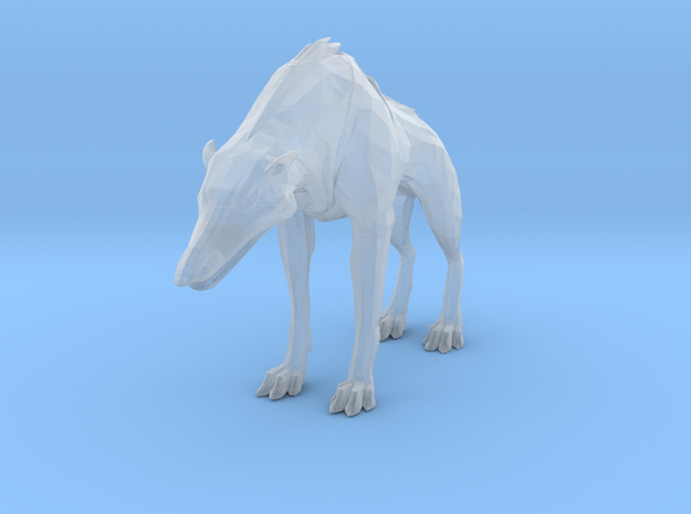 Dishonored Wolfhound in Smoothest Fine Detail Plastic