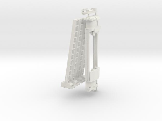 1/72 Rheinmetall 30 ton crane Wehmacht in White Natural Versatile Plastic