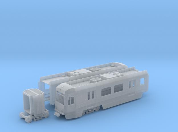 HO Scale LA Metro P3010 Display Model in Smooth Fine Detail Plastic