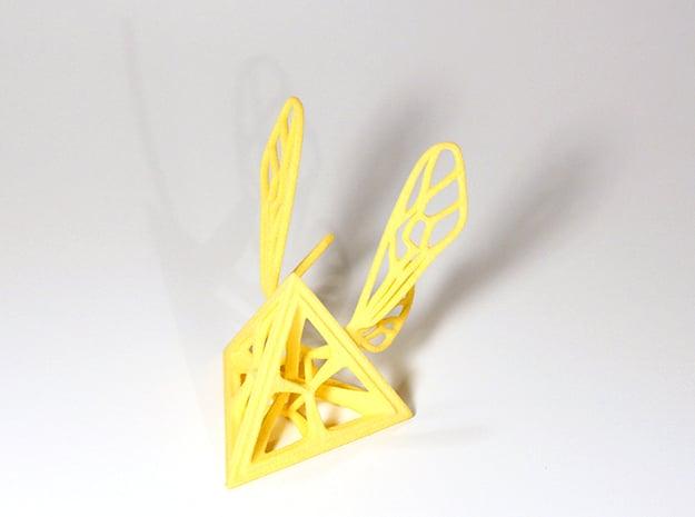 Tetra-Wasp in Yellow Processed Versatile Plastic