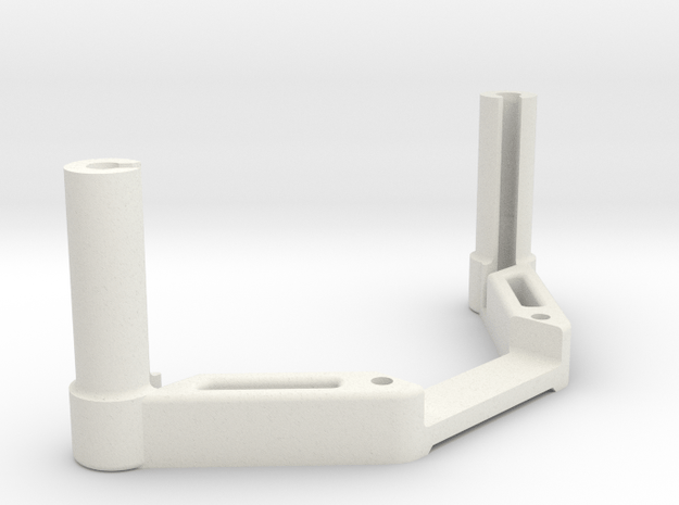 DJI OcuSync Pagoda antenna x2 mount in White Natural Versatile Plastic