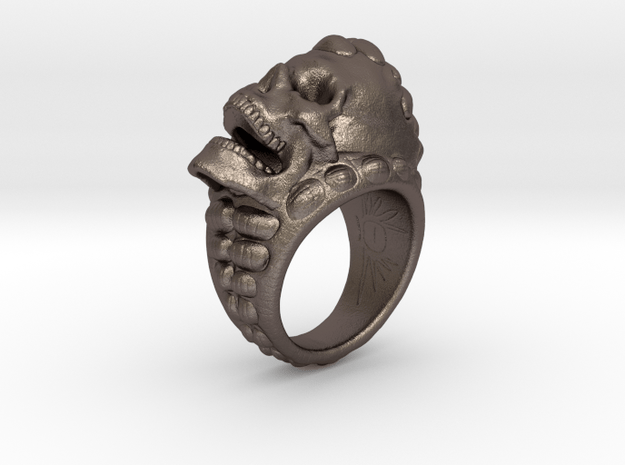 skull ring size 10.5