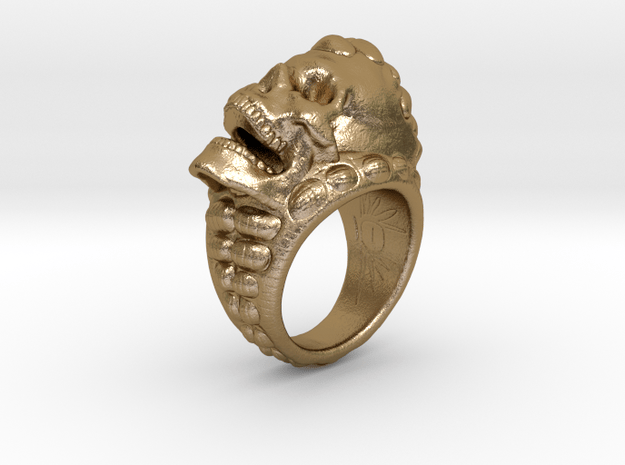 skull-ring-size 9