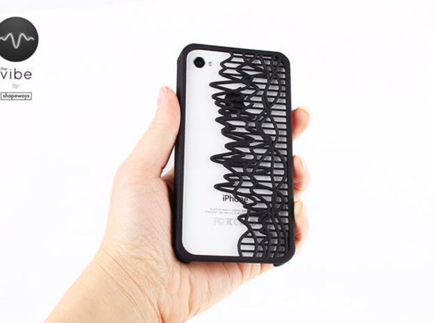 The Vibe iPhone Case - 27856601:17.31 in Black Natural Versatile Plastic