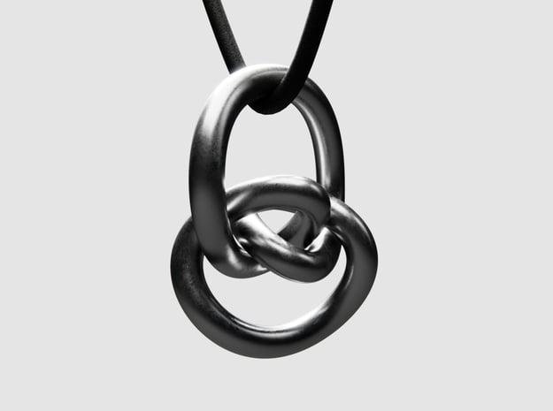 Pendant 05 - Osiris in Polished Nickel Steel