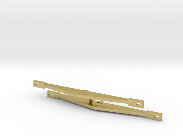 119 equalizing beam in Natural Brass
