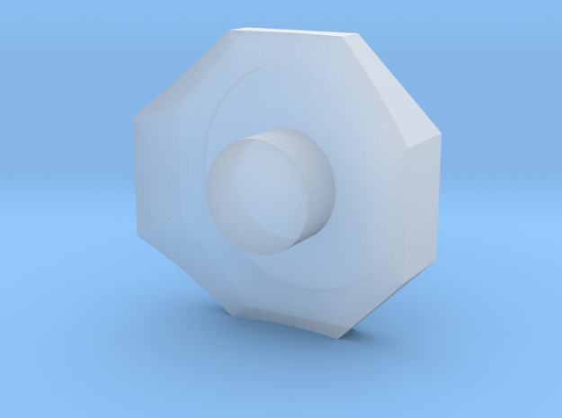 119 steam dome base in Smooth Fine Detail Plastic