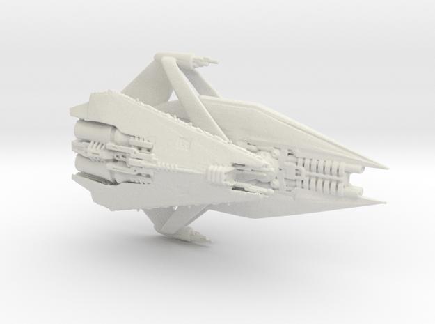 Narn KLaan Second Prototype in White Natural Versatile Plastic